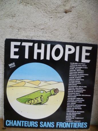 """Ethiopie """"Chanteurs sans frontières"""" de 1985"""