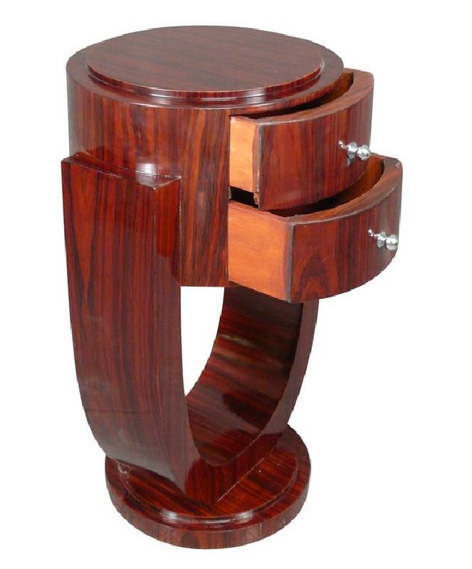 paire de chevets art d co en palissandre les vieilles choses. Black Bedroom Furniture Sets. Home Design Ideas