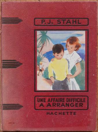 P.J. STAHL, une affaire difficile à arranger, 1952, vintage