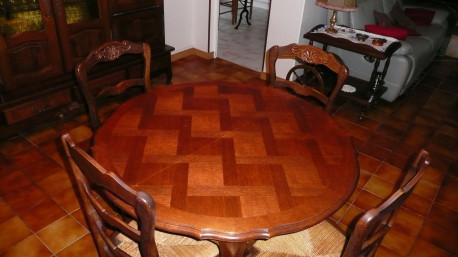 TABLE DE SALLE A MANGER VINTAGE
