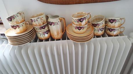 service à cafe vintage