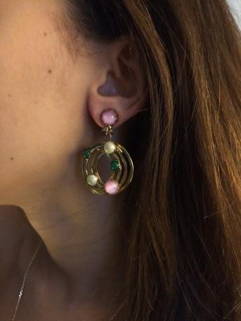 Boucles d'oreilles clips Vintage