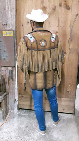 Veste mexicaine vintage.