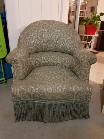 Fauteuil Crapaud Ancien Les Vieilles Choses - Ancien fauteuil crapaud