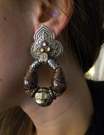 Boucles d'oreilles clips Zoé Coste