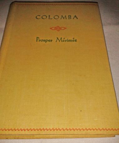Colomba par Prosper Mérimée, livre-nouvelles, vintage