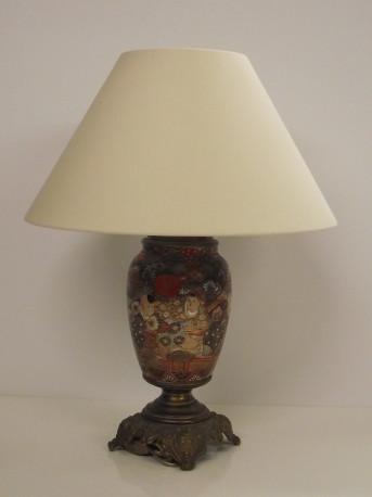 Lampe style Satsuma