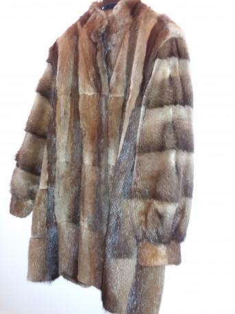 manteau fourrure vintage