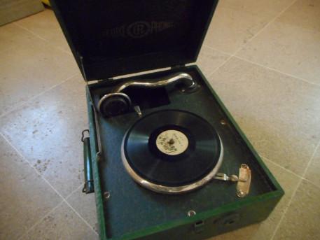gramophone ancien