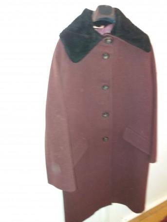manteau de laine 1980