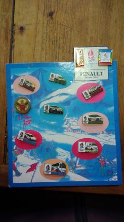 Présentoir Renault jeux olympiques Albertville 1992
