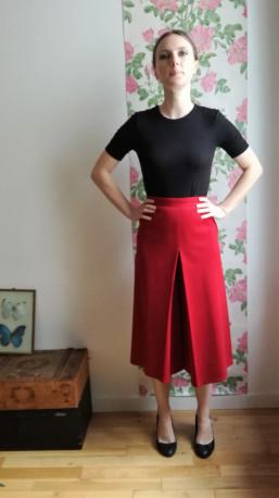 Pantalon large/ Jupe-culotte Sonia Rykiel vintage