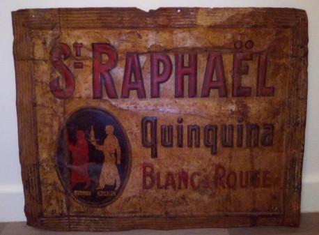 Tôle publicitaire Saint Raphaël Quinquina