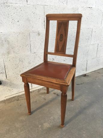 6 Chaises Art Déco