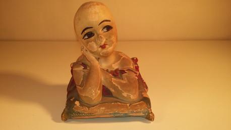 Buste très ancien en plâtre