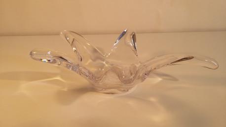 Cendrier/vide poche en cristal