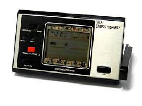 Jeu video LCD 1980'