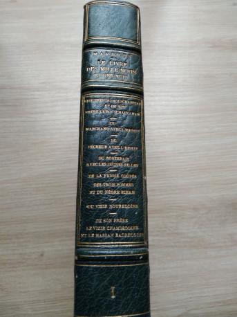 le livre des mille nuits et une nuitDr jc Mardrus édition 1899