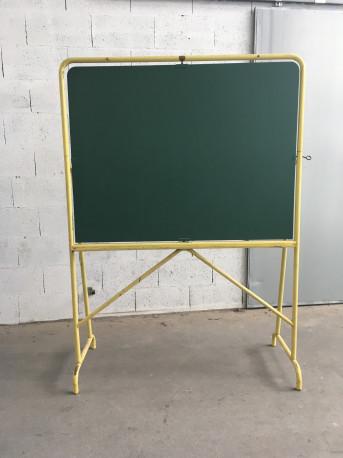 Tableau d'école sur pied des années 50