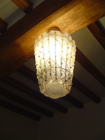 lustre murano vintage