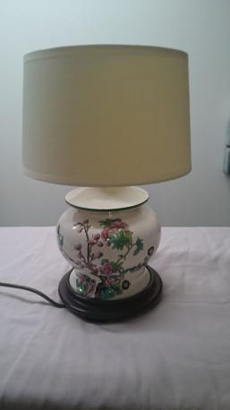 Lampe à poser faience d'art de Rodez