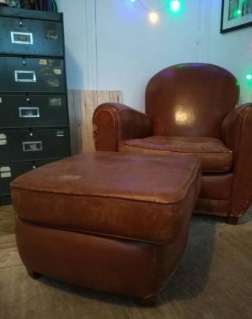 Fauteuil Club Vintage