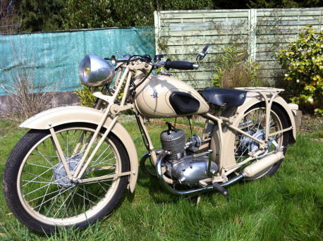 moto peugeot P56 vintage