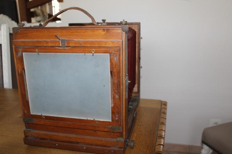 Chambre photographique en Accajou Ancienne - Les Vieilles Choses