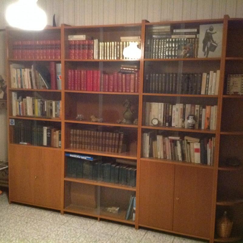 biblioth que vitr e 4 l ments dissociables les vieilles. Black Bedroom Furniture Sets. Home Design Ideas