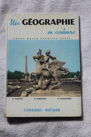 ma géographie en couleur 1962