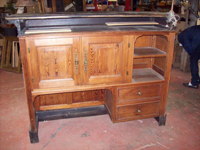 comptoir bar ancien les vieilles choses. Black Bedroom Furniture Sets. Home Design Ideas