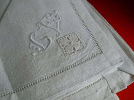 serviette vintage