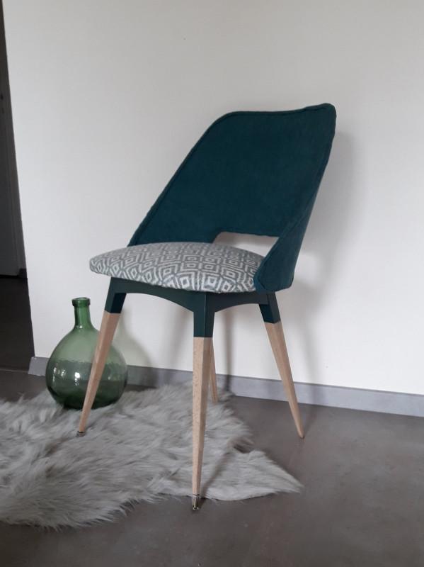 chaise vintage revisit e les vieilles choses. Black Bedroom Furniture Sets. Home Design Ideas