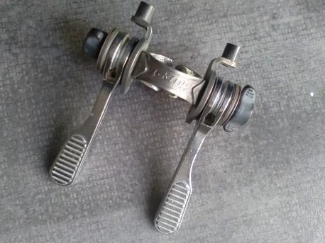 MANETTES leviers HURET vitesses CHROMÉ collier double vintage levers SPEED Poids 135 g Photos supplémentaires sur simple de