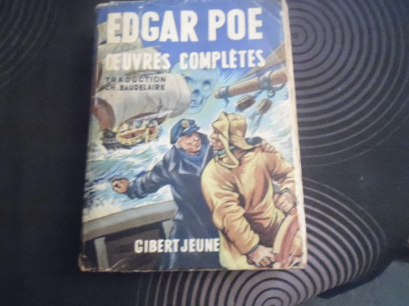 """LIVRE EDGAR POE """"OEUVRES COMPLETES"""" 1953"""