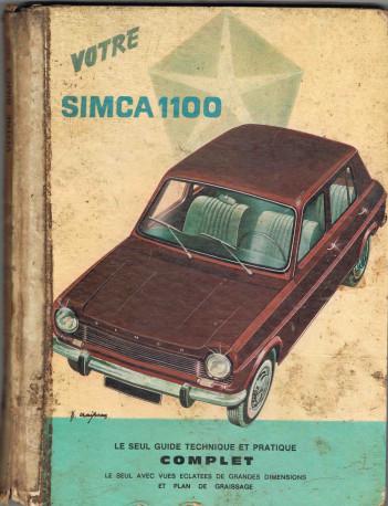 Revue technique simca 1100