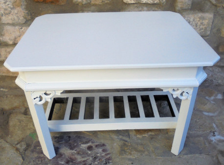 Ancienne table style shabby chic