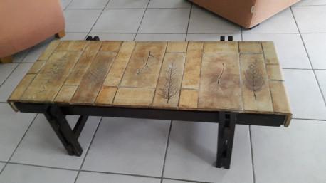 Table basse CAPRON signée