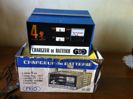 Chargeur batterie vintage