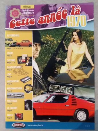 CETTE ANNEE LA : 1970