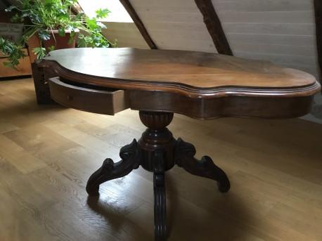 Table violon louis philippe