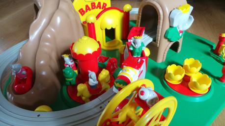 Circuit de train Babar