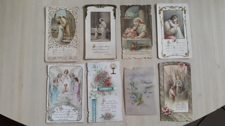 Lot canivets, images, prières, invocations ...