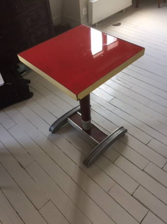 Table bistro vintage années 1940-50