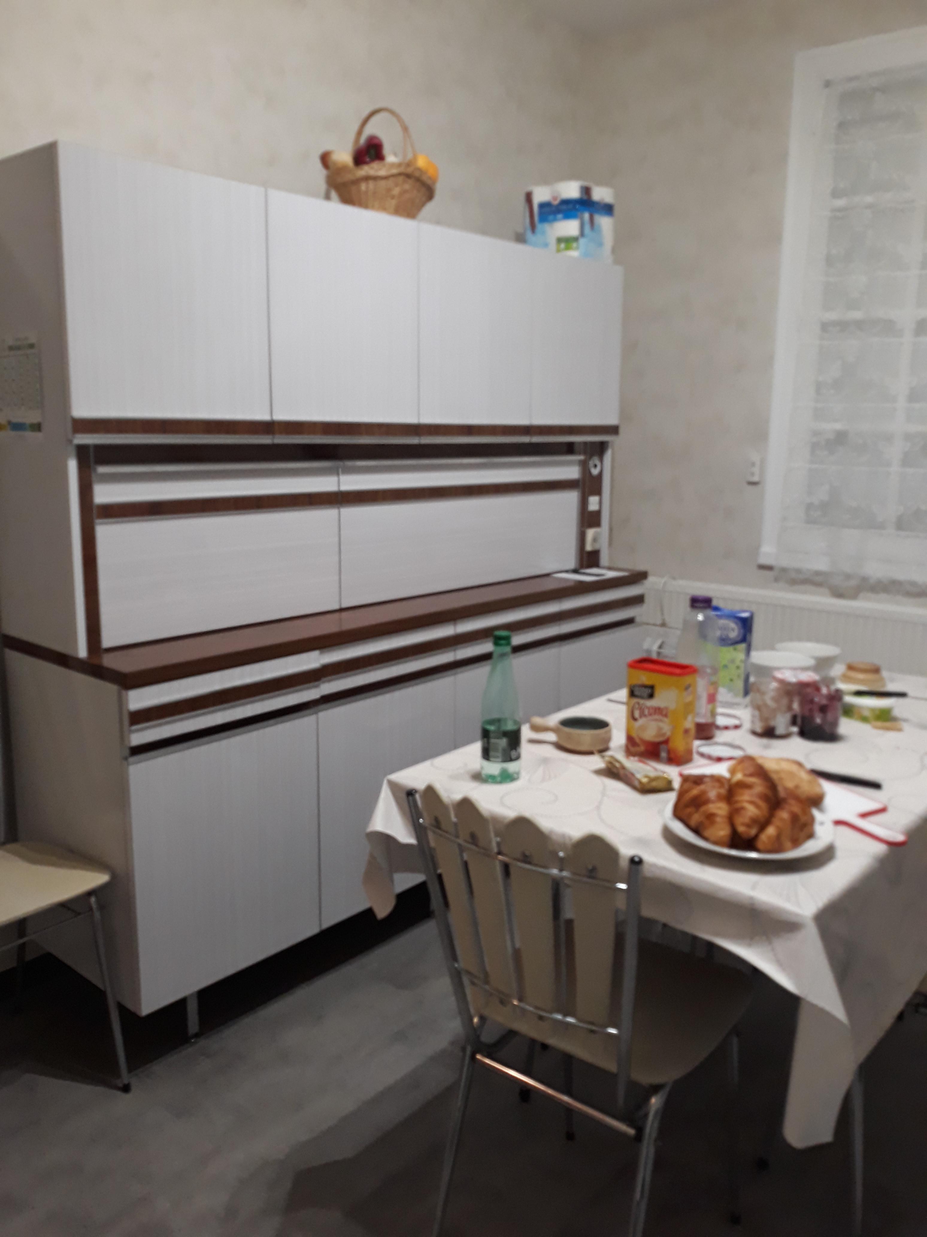 Buffet Cuisine Formica 1970 Vintage Les Vieilles Choses