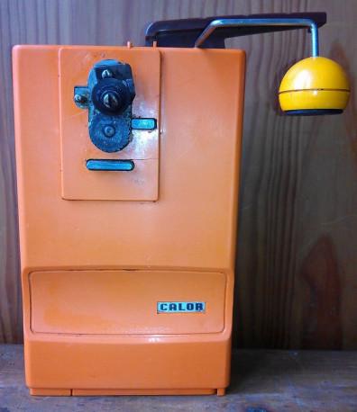Ouvre-Boites électrique CALOR, Années 70