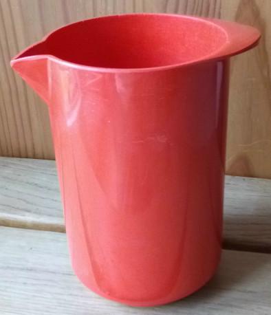 Broc d'eau ROSTY Orange, années 70