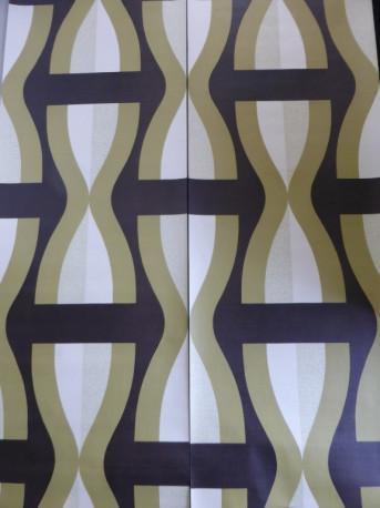 Papier Peint Vintage Geometrique Les Vieilles Choses