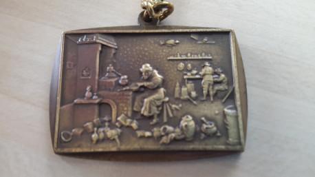 Porte-clé vintage