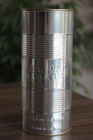 Emballage en métal parfum JEAN PAUL GAULTIER